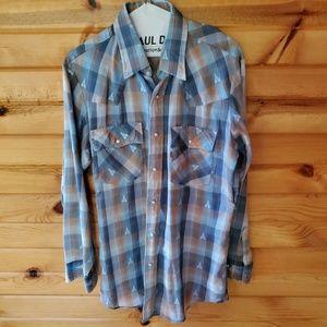 Men's Vintage Levi's Cotton Blend Western Shirt